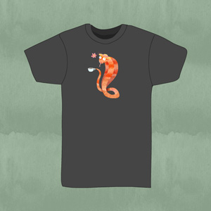 REd Squirrel Men's Shirt